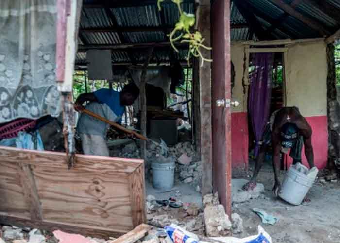 Cerca de 25.000 personas continúan desplazadas todavía en Haití