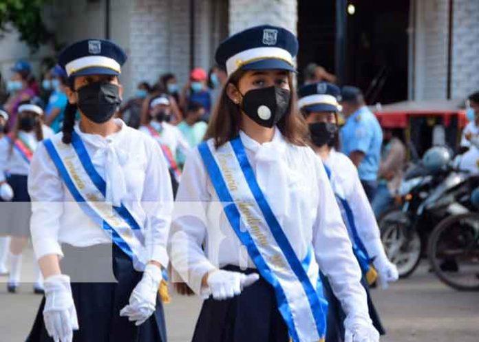 Nicaragua se viste de azul, blanco y azul celebrando sus fiestas patrias