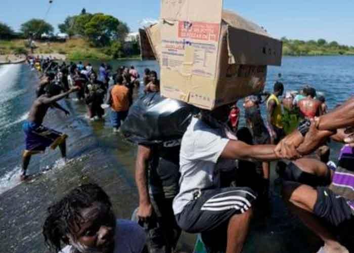 """Foto: El presidente de México, Andrés Manuel López Obrador, llama atender las razones económicas de esta migración. """"No queremos que México sea un campamento de migrantes""""   Cortesía."""