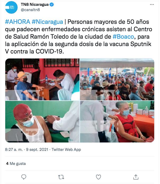 Jornadas de Vacunación en Boaco