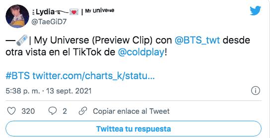 Colaboración de Coldplay y BTS