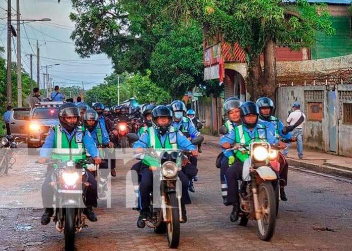 Nicaragua celebra a nuestra Policía Nacional en su 42 aniversario