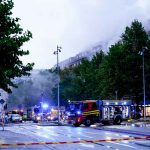 Fuerte explosión en Suecia