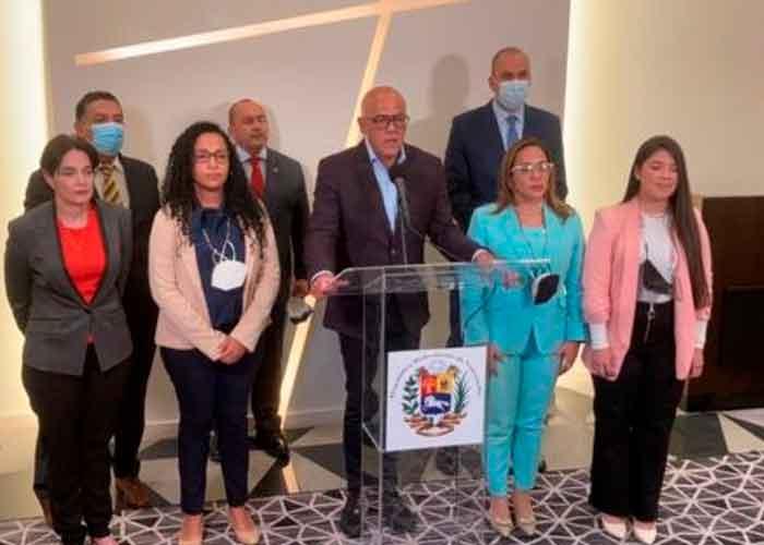 """Foto: Gobierno venezolano, con """"profundas expectativas""""en este encuentro con oposición"""