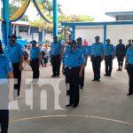 Conmemoran los 42 años de la Policía Nacional en Boaco