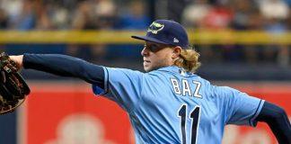 baz, pitcher, rays, tampa, bay,
