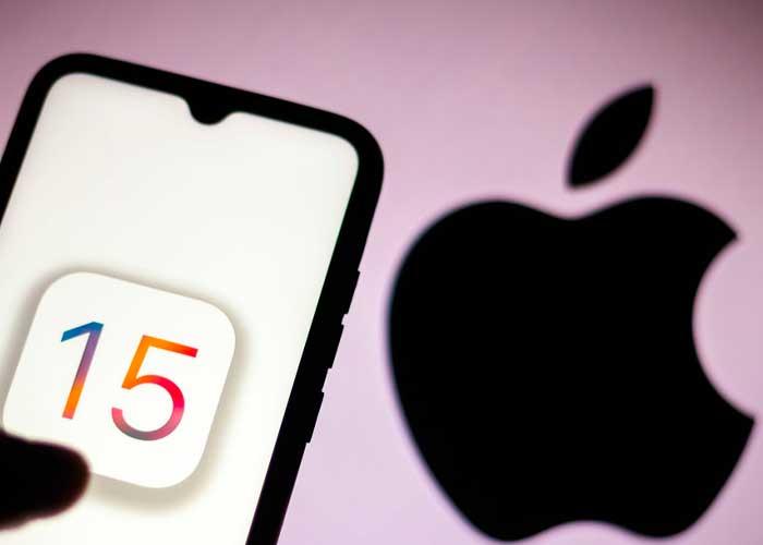 Novedades del sistema operativo iOS 15