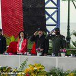 Acto del 42 aniversario del Ejército de Nicaragua, presidido por el Comandante Daniel Ortega y la Vicepresidenta Rosario Murillo