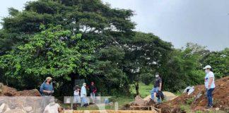 Construcción para sistema de agua potable en La Concordia, Jinotega