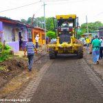Construcción de nuevas cuadras para barrios de Managua