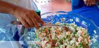 Entérate de cómo se elabora el cóctel de camarón en Nicaragua
