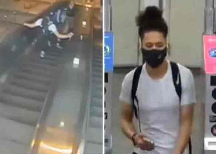 Capturan a hombre por dar patada a mujer en el metro de Nueva York