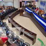 Sesión parlamentaria en la Asamblea Nacional de Nicaragua