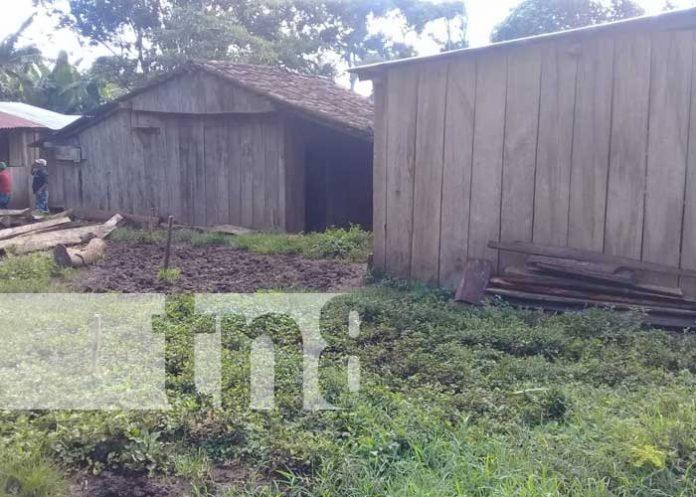 Lugar en Jinotega donde una anciana fue asesinada