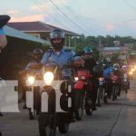 Diana policial en Bluefields en celebración a sus 42 años de fundación