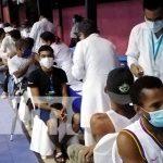 Puestos de vacunación contra el COVID-19 abarrotados en Bluefields