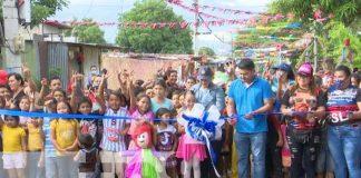 Mejoran 9 calles del barrio 19 de Julio en Managua