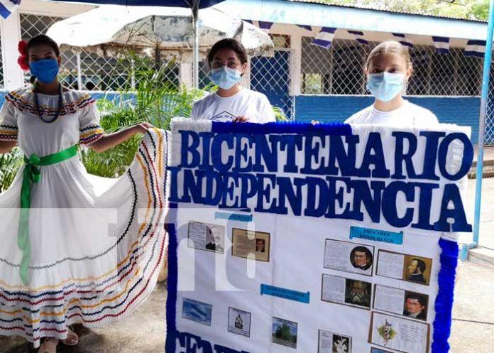 Realizan acto cultural en Managua por Bicentenario de Independencia