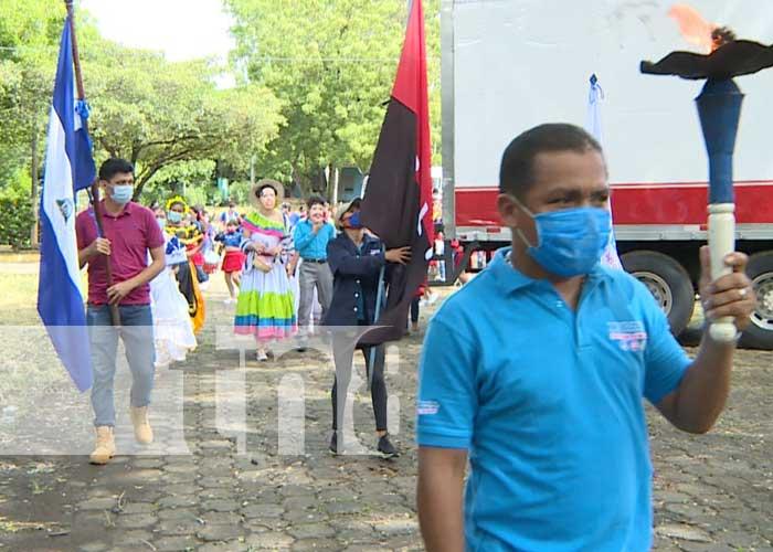 Actividad en el INATEC por el Bicentenario de Centroamérica