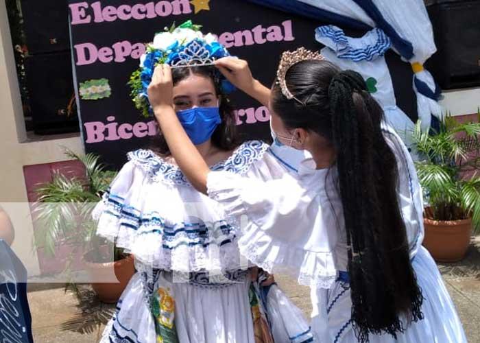 Celebración de la Chica Bicentenario 2021 en Boaco
