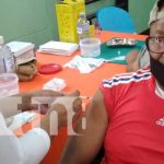 Aplicación de la vacuna Sputnik V en Boaco
