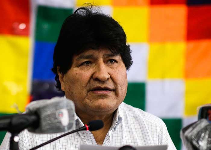 Evo Morales, ex presidente de Bolivia