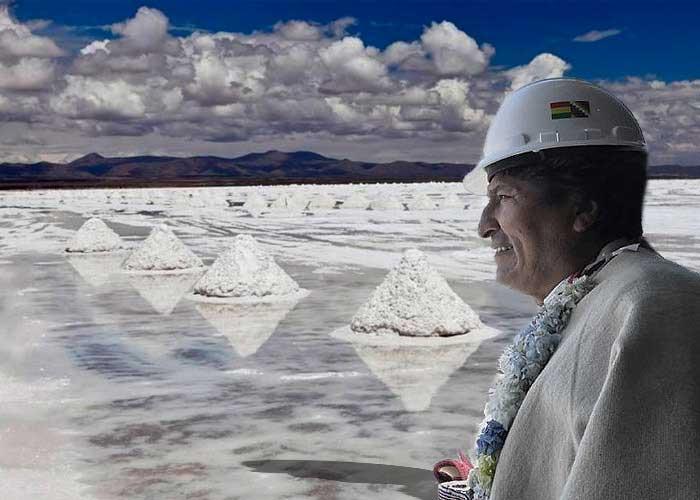 Reservas de litio en Bolivia
