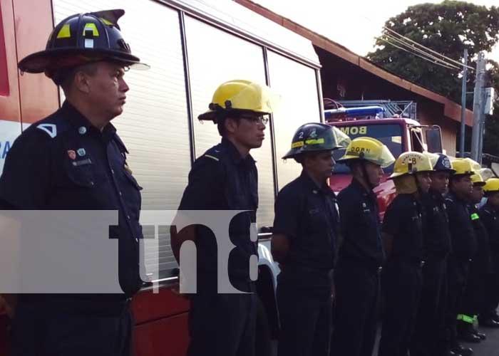 Nuevos equipos para nueva estación de bomberos en Quilalí