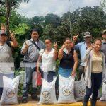 Entrega de bonos tecnológicos de frijol para agricultores en Matiguás