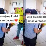Mujer sufre derrame cerebral y luego le llega propuesta de matrimonio
