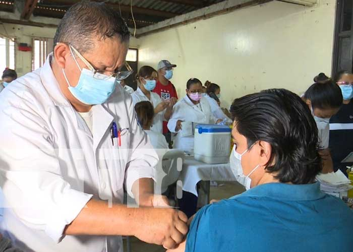 Vacunación para mayores de 30 años continúa en Managua