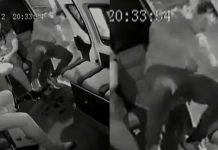 Hombre cae de bus en México al quedarse dormido