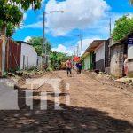 70% avanza la construcción de calles en el Anexo Villa Libertad de Managua