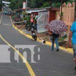 Inauguran proyectos de calles en Estelí