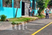 ALMA inaugura mejoramiento vial en barrio Carlos Núñez