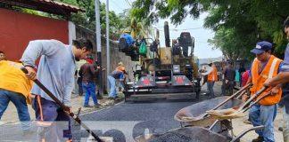 Avanza 62% programa de calles en Managua