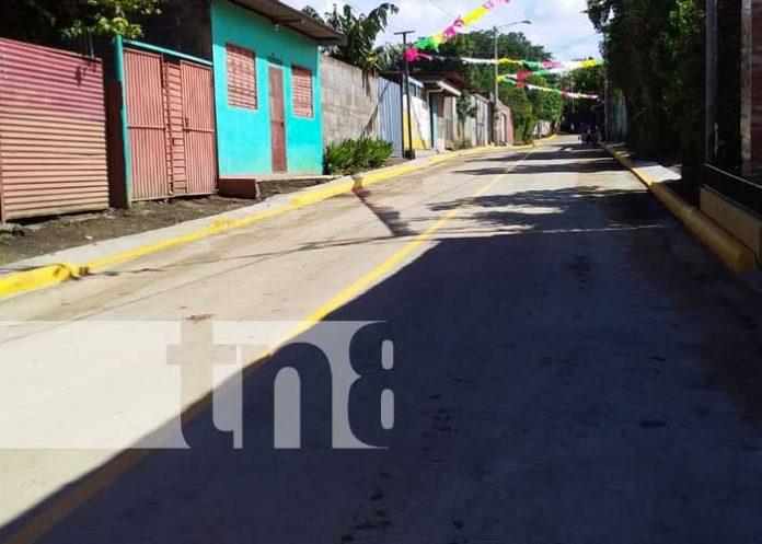 Managua alcanza gran desarrollo con la construcción de calles