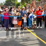Nuevas calles para mejoría de las familias en Managua