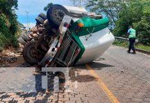 Accidente de tránsito en Quilalí