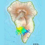 Alta actividad sísmica en el volcán en las Islas canarias