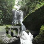 Cascada ubicada en Pueblo Nuevo, Estelí, sitio turístico
