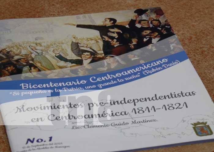 Presentan colección de libros sobre la Independencia Centroamericana