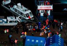 Al menos ocho muertos y siete desaparecidos por naufragio en China