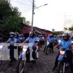 Chinandega rinde homenaje a la Policía Nacional