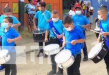 Jalapa se sumó a las festividades patrias
