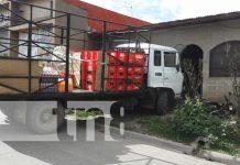 Camión pierde los frenos y se estrella en una casa en Estelí