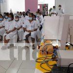 Nuevos equipos para cirugías en el Hospital Bertha Calderón