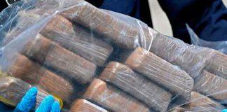 Cocaína encontrada en Colombia en una avioneta