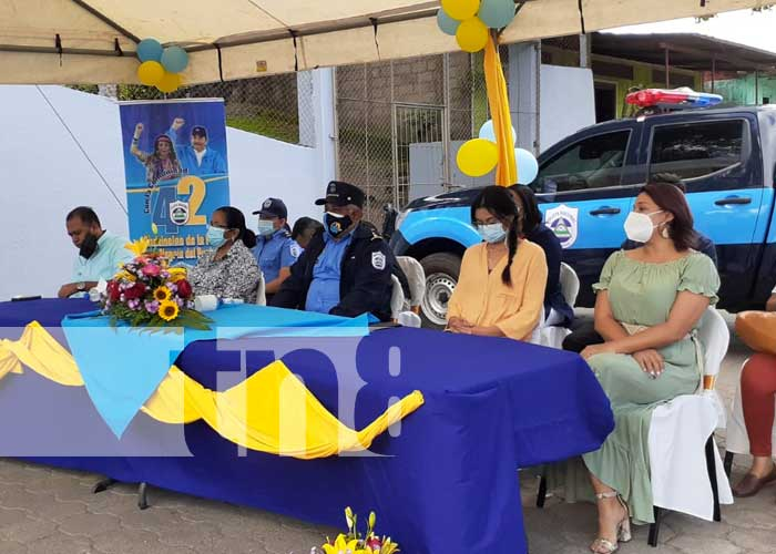 Inauguración de Comisaría de la Mujer en Diriomo