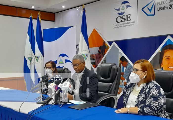 Conferencia de prensa del CSE sobre el Calendario Electoral